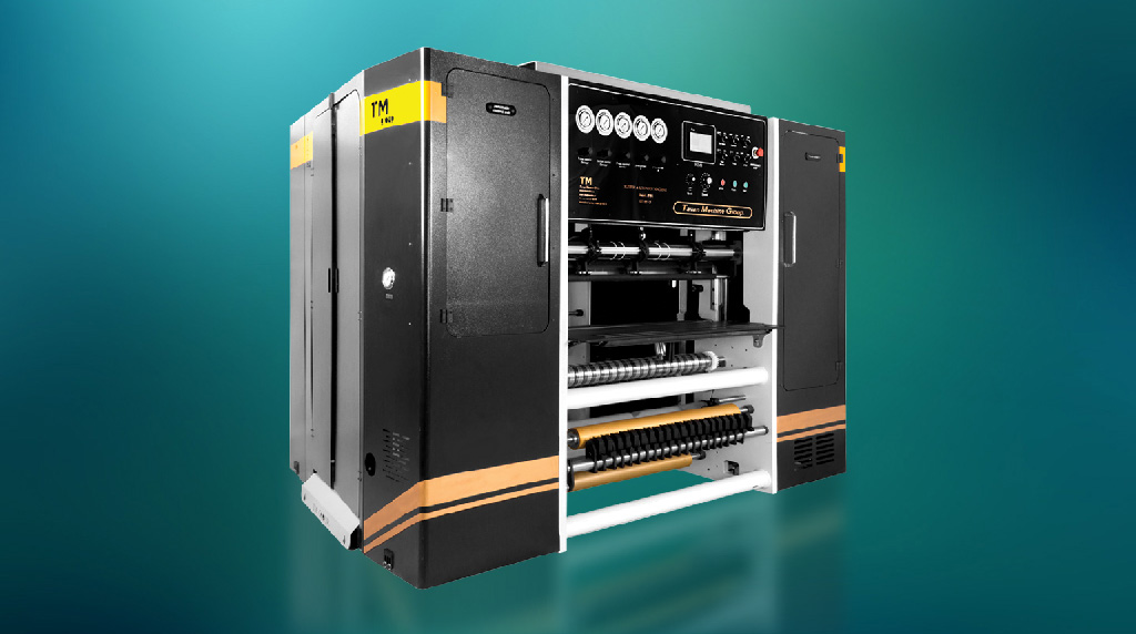 ماشین برش رول حرارتی اتوماتیک مدل TM-S84