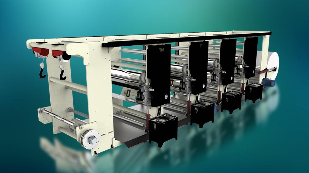 ماشین چاپ فلکسو – روتوگراور مدل TM-PRT11