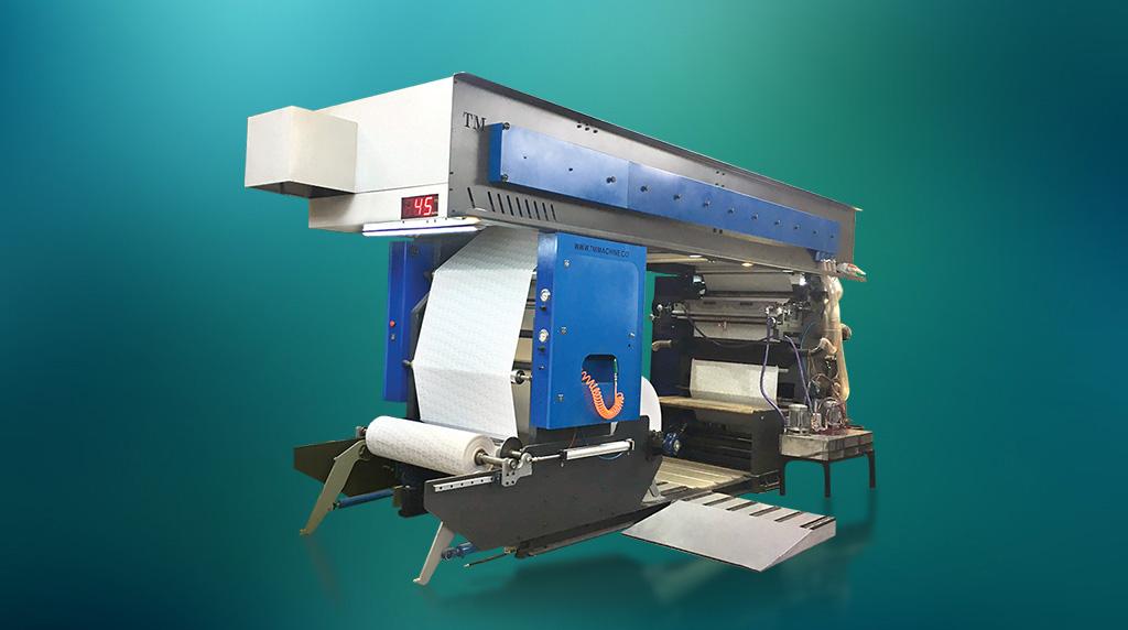 ماشین چاپ فلکسو مدل TM-PRT12