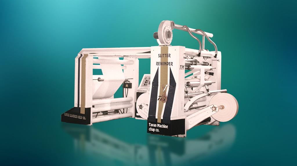 ماشین برش رول به رول کاغذ مدل TM-S91